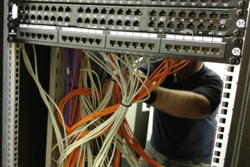 Network Cable Patch Panel